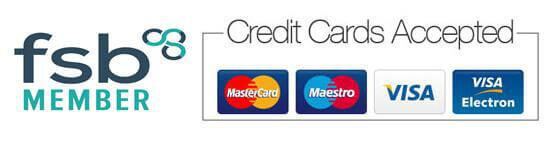 we accept credit cards for garage door repairs